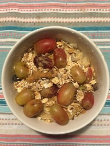 Havermout pap Mischa Top Recept sportpowerfood